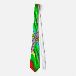 Modelo extraño colorido corbatas personalizadas