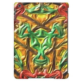 Modelo extraño colorido funda para iPad air