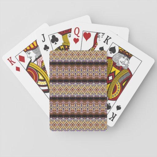 Modelo extraño e inusual barajas de cartas