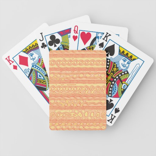 Modelo extraño inusual baraja de cartas