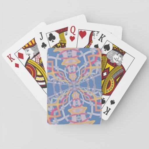 Modelo extraño inusual cartas de póquer
