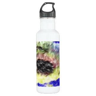 Modelo extraño tremendo botella de agua