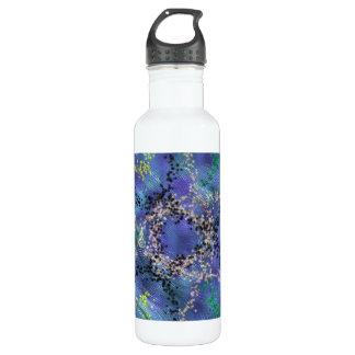 Modelo extraño único botella de agua de acero inoxidable