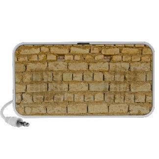 Modelo fangoso de la pared de ladrillo portátil altavoces