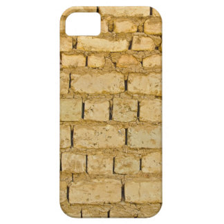 Modelo fangoso de la pared de ladrillo iPhone 5 funda