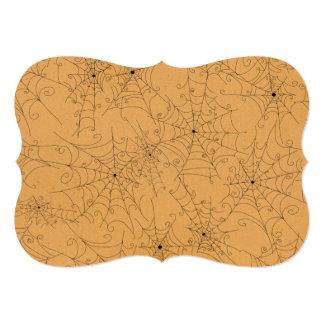 Modelo fantasmagórico de los Web de araña de Invitacion Personal