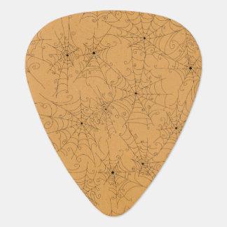Modelo fantasmagórico de los Web de araña de Púa De Guitarra