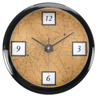 Modelo fantasmagórico de los Web de araña de Relojes Acuario