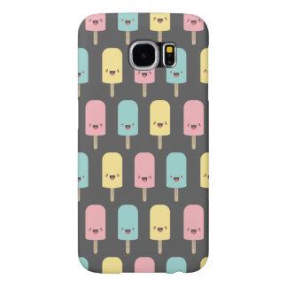 Modelo feliz del polo de hielo del Popsicle de Fundas Samsung Galaxy S6