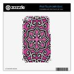 Modelo femenino céltico rosado calcomanías para iPod touch 4G