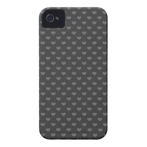 modelo femenino del gótico del emo gris de los Case-Mate iPhone 4 cobertura
