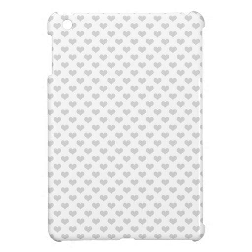modelo femenino del grunge del emo gris de los cor iPad mini protectores