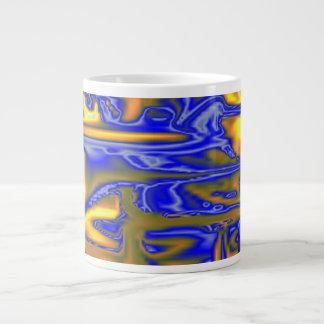 Modelo feo caótico taza grande