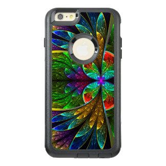 Modelo floral abstracto del vitral funda otterbox para iPhone 6/6s plus
