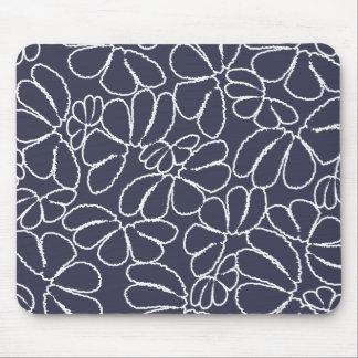 Modelo floral caprichoso del Doodle de Ikat de los Tapetes De Ratones