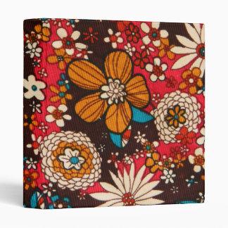 """Modelo floral de la materia textil del vintage carpeta 1"""""""