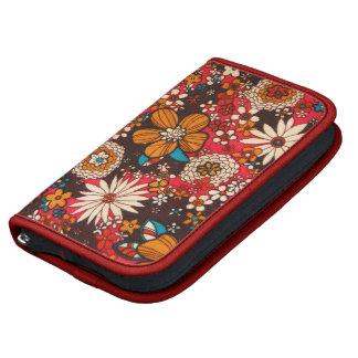 Modelo floral de la materia textil del vintage sun planificador