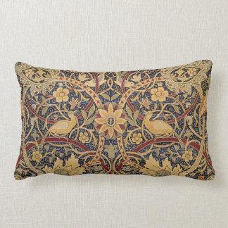 Modelo floral de la tela de la tapicería del cojin