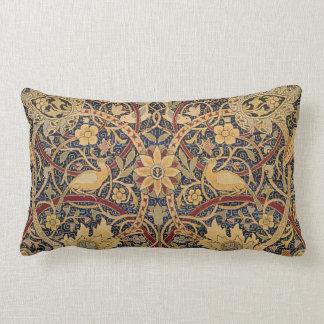 Modelo floral de la tela de la tapicería del cojín