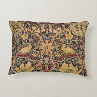 Modelo floral de la tela de la tapicería del cojín decorativo