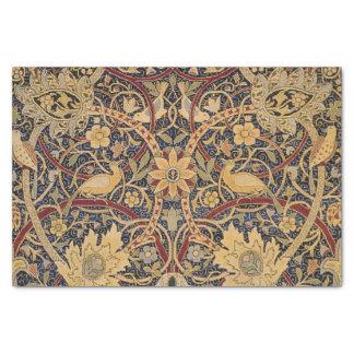 Modelo floral de la tela de la tapicería del papel de seda