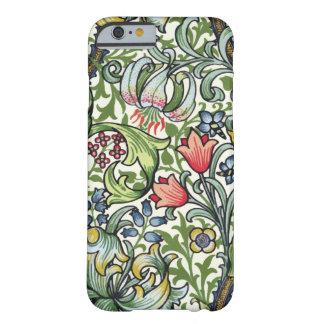 Modelo floral de la zaraza del lirio de oro de funda barely there iPhone 6