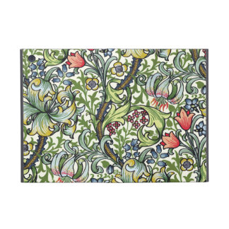 Modelo floral de la zaraza del lirio de oro de Wil iPad Mini Cárcasa