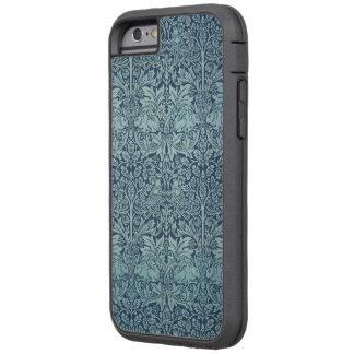 Modelo floral de los pájaros del conejo del funda para  iPhone 6 tough xtreme