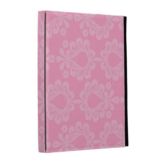 modelo floral del damasco del rosa en colores past