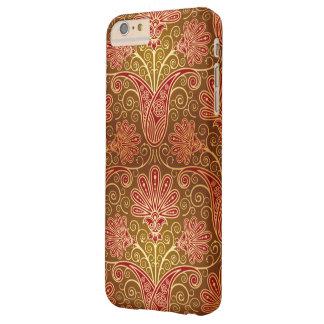 Modelo floral del damasco funda de iPhone 6 plus barely there