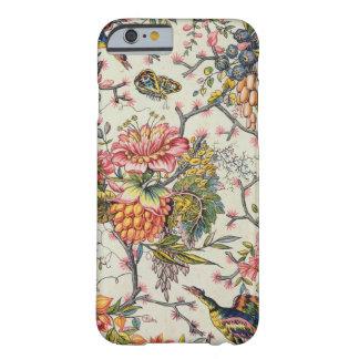 Modelo floral del diseñador funda de iPhone 6 barely there