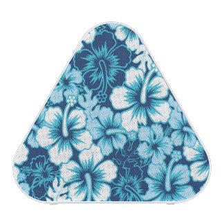 Modelo floral del hibisco de la resaca altavoz