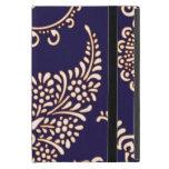 Modelo floral femenino de la alheña de Paisley del iPad Mini Protector