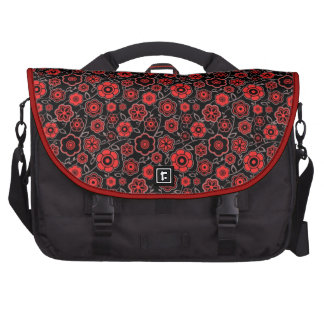 Modelo floral oriental fresco del ornamento de la  bolsas para portatil