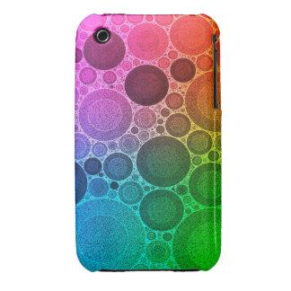 Modelo fluorescente retro iPhone 3 Case-Mate carcasas