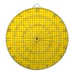 Modelo: Fondo anaranjado con los círculos amarillo Tablero Dardos
