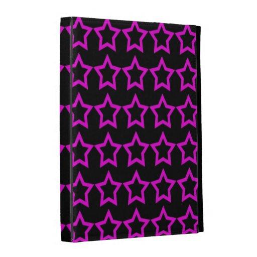 Modelo: Fondo negro con las estrellas rosadas