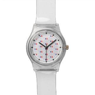Modelo francés de la palabra de Liberté - de Relojes