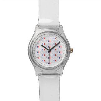 Modelo francés de la palabra de Liberté - de Relojes De Pulsera
