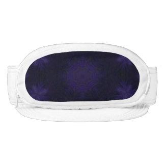 Modelo fresco abstracto púrpura visera
