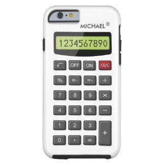 Modelo fresco de la calculadora de la diversión funda de iPhone 6 tough