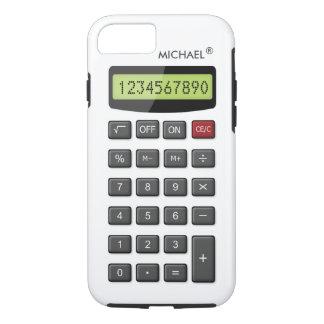 Modelo fresco de la calculadora de la diversión funda iPhone 7