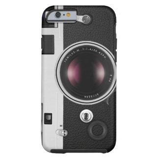 Modelo fresco de la cámara divertida del vintage funda para iPhone 6 tough