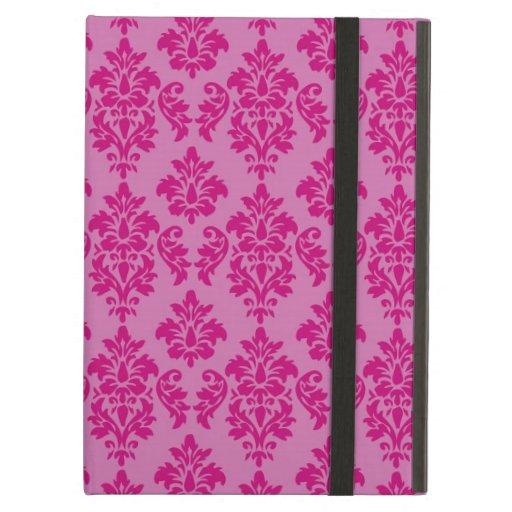 Modelo fucsia rosado femenino del damasco