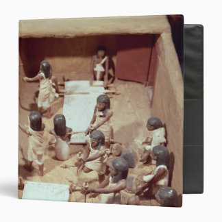 Modelo funerario de un taller de la materia textil