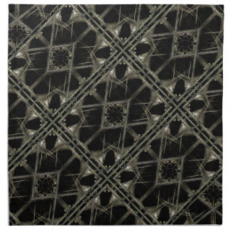 Modelo futurista de la textura servilleta de papel