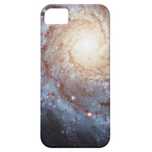 Modelo galáctico del remolino 74 más sucios de la  iPhone 5 carcasa