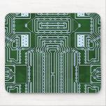 Modelo Geeky divertido de la placa de circuito del Alfombrilla De Ratón