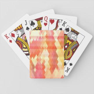 Modelo geométrico 1 baraja de póquer