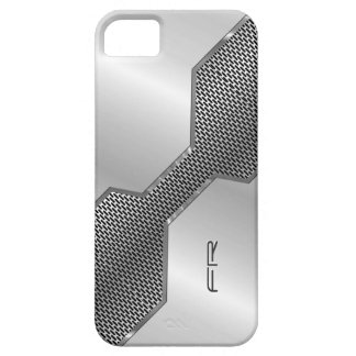 Modelo geométrico 3 del puré del metal de la funda para iPhone SE/5/5s